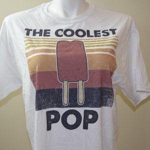 The Coolest Pop T-Shirt Size large